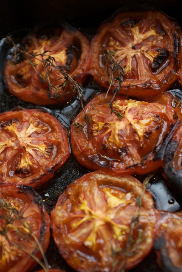 Well -roasted tomatoes