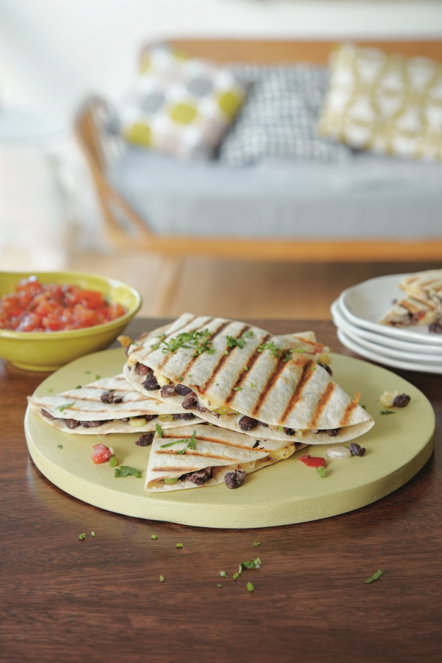 Black Bean Quesadilla