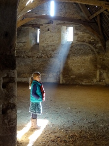 Imi in the Tythe Barn