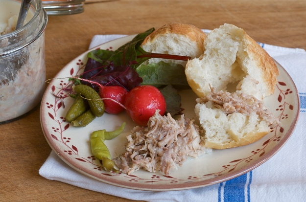 Rillettes for lunch