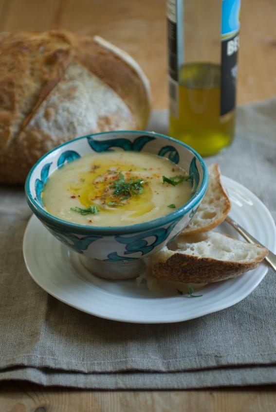 Jenny Chandler's fava bean soup