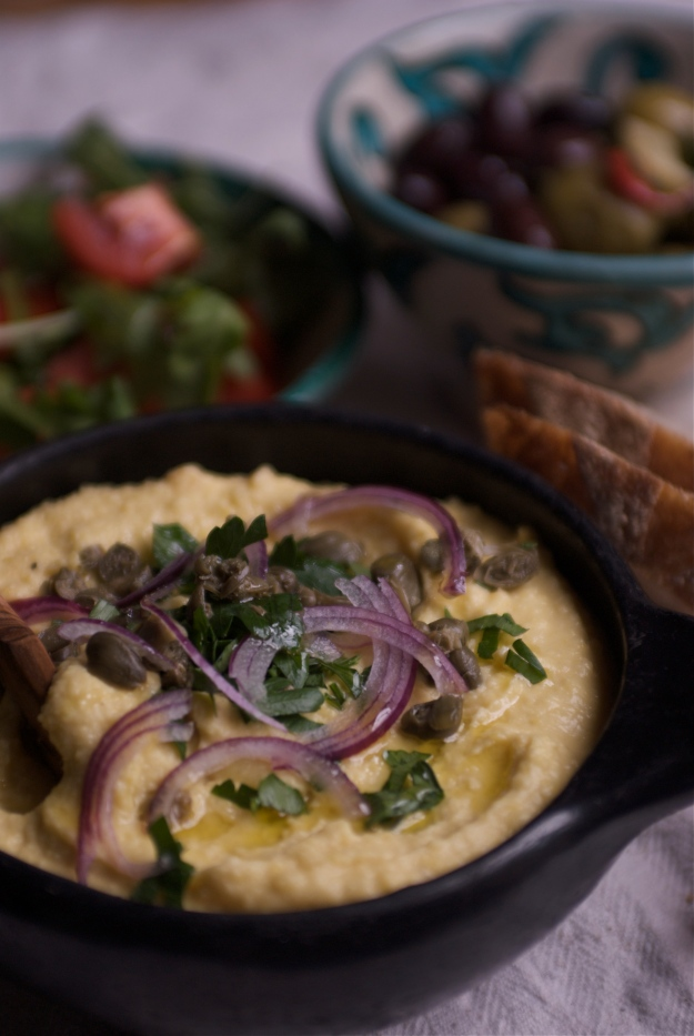 Greek Fava puree
