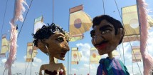 Puppets at WOMAD