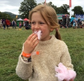Stuffing Candy Floss
