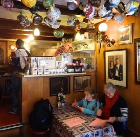 Jenny Chandler - tiniest restaurant in Holland