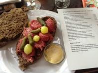 Dutch raw beef sausage Jenny Chandler