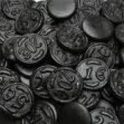 Dutch salty liquorice