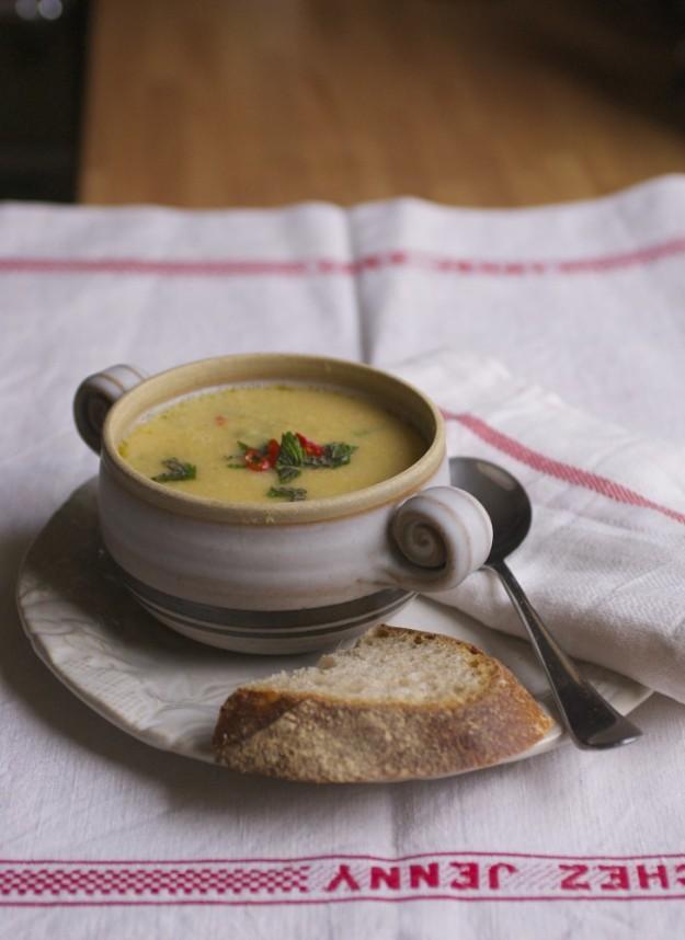 Jenny Chandler Frugal Chickpea soup