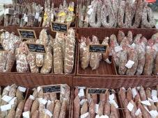 Langeac Market - Saucissons