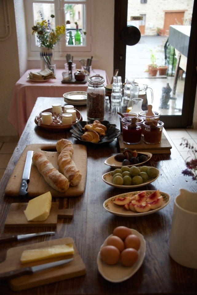Breakfast at Chassignolles