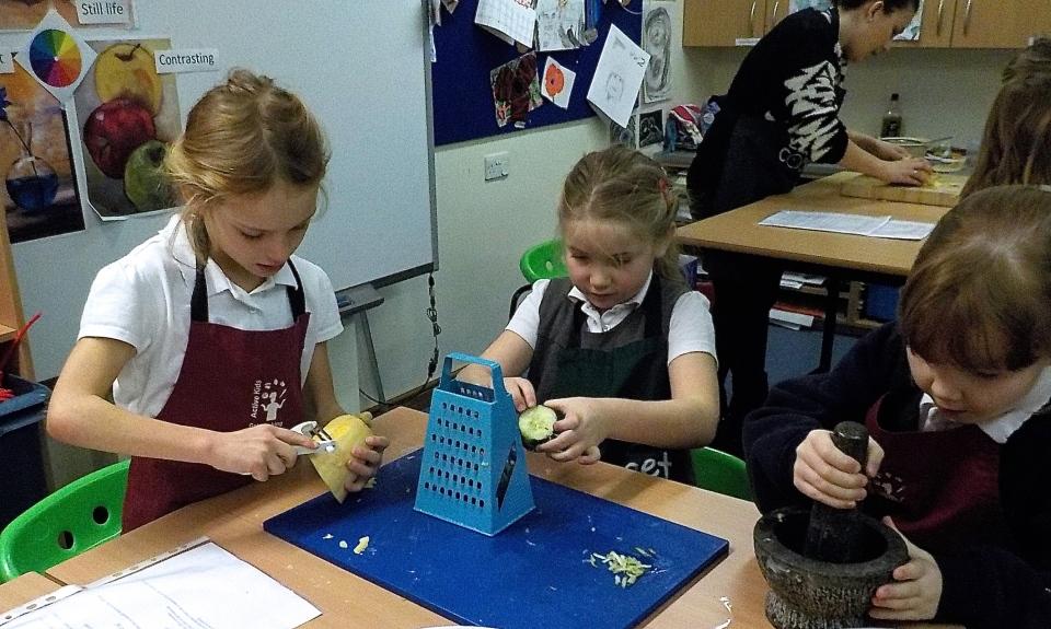 Jenny Chandler ay Victoria Park School