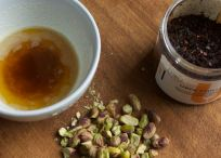 Caramelised butter, nuts and Urfa Chilli flakes