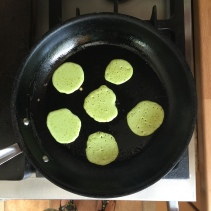 Jenny Chandler pea fritters