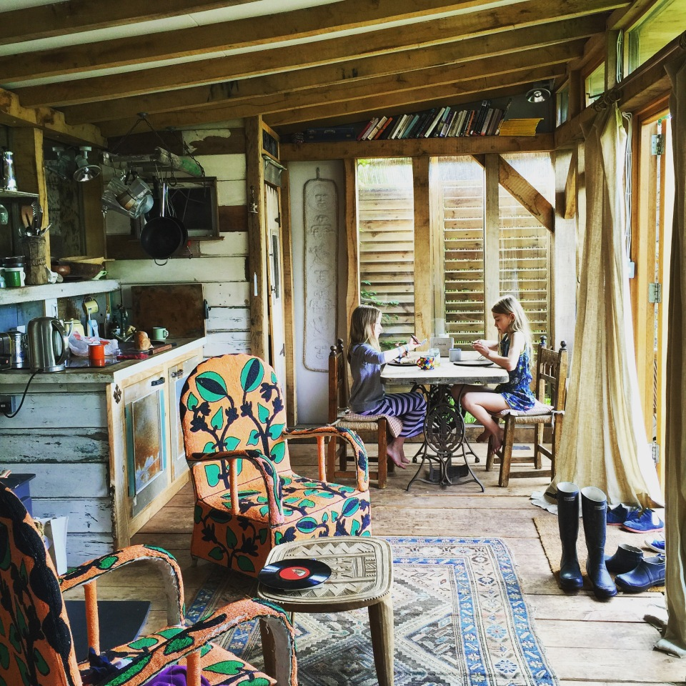 Inside the Magical Cabin