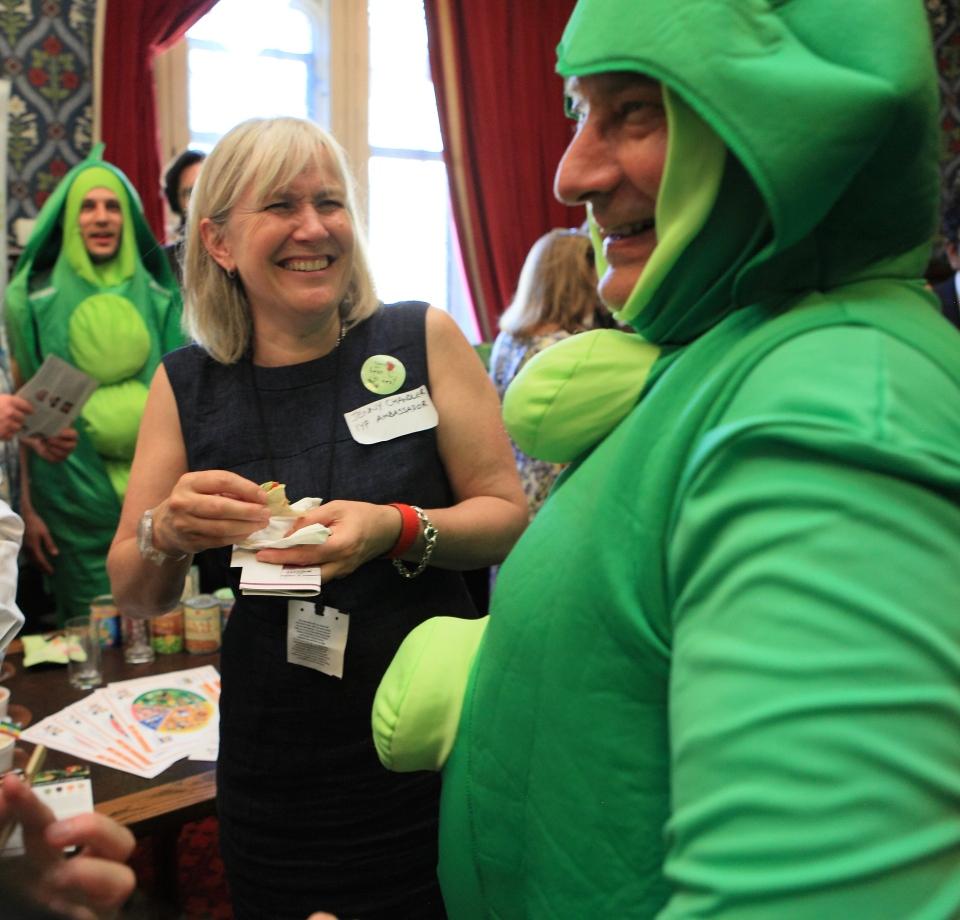 Peas in Parliament