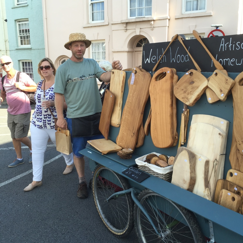 Welsh Wood at Abergavenny - of course I bought one!