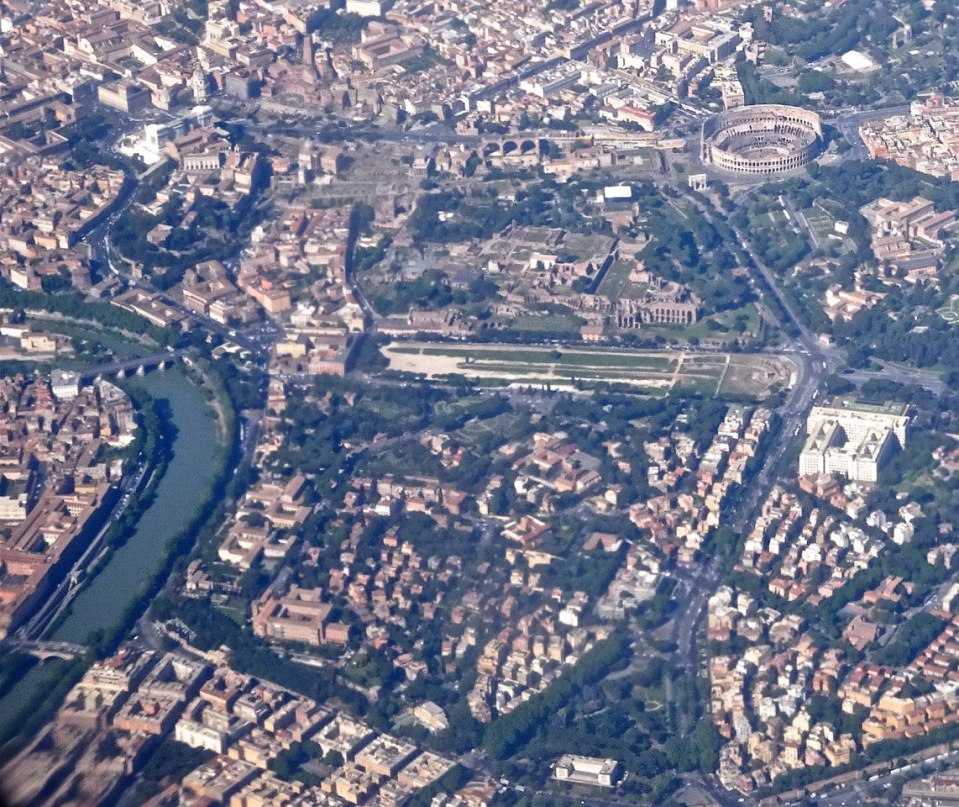 Jenny Chandler: aerial view of Rome