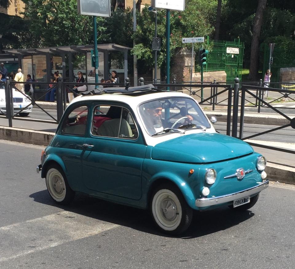 Jenny Chandler : Cinquecento Roma