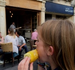 Sweetcorn and chilled music - Clifton Fest' Jenny Chandler Blog