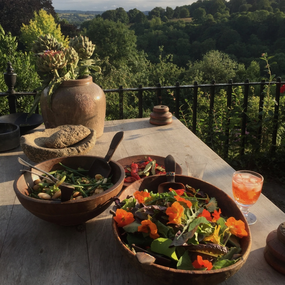 Supper with a view - Jenny Chandler Blog